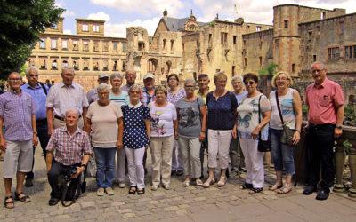 Altersabteilung reiste nach Heidelberg