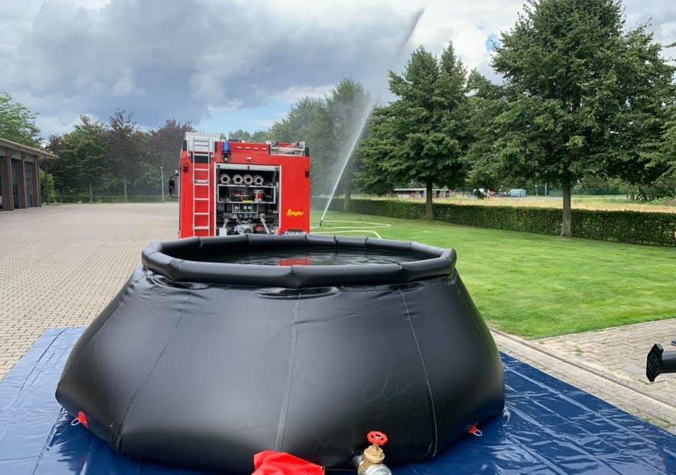 Feuerwehr Dinklage schafft einen 10.000 Liter Falttank an